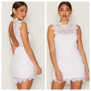 Free People Sexy Bride Bridal Lace Stretchy Dress