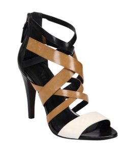 Vera Wang Strape Heels Brown/Black Pumps