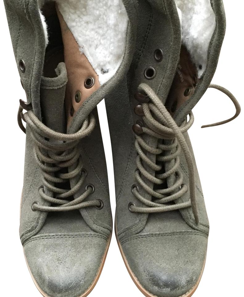 a0dd86c89af Steve Madden Green Ankle Lace Up Boots/Booties Size US 8 Regular (M, B)