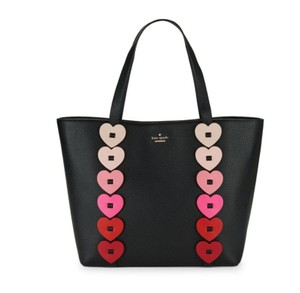 Kate Spade Tote in Black Red pink