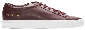 Common Projects Sneakers Trainers Low Top Gucci Saint Laurent Burgundy Athletic