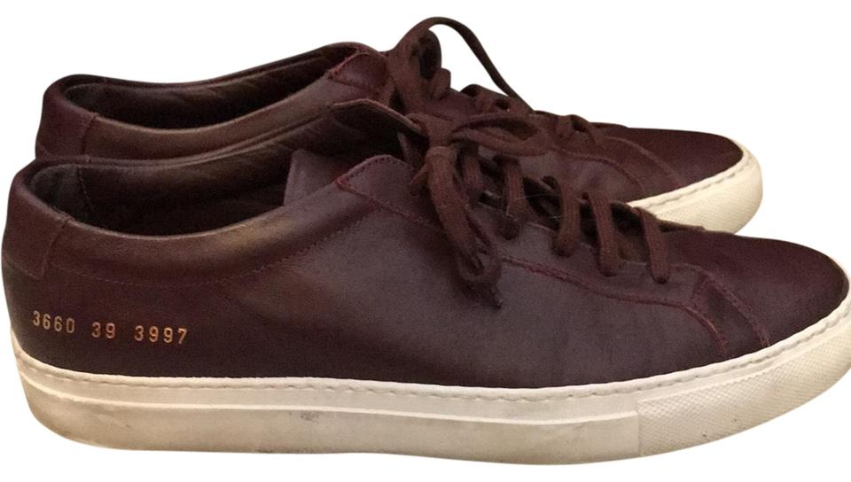 284c400e667d Common Projects Burgundy Leather Sneakers Sneakers Size EU 39 (Approx. US  9) Regular (M