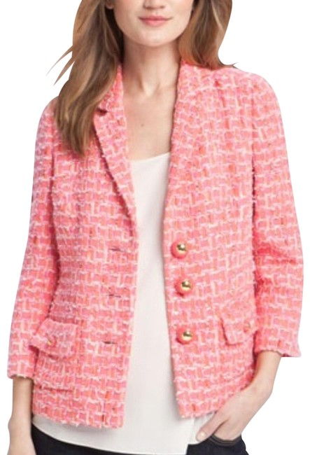 Item - Pink Olympia Tweed Jacket Size 4 (S)