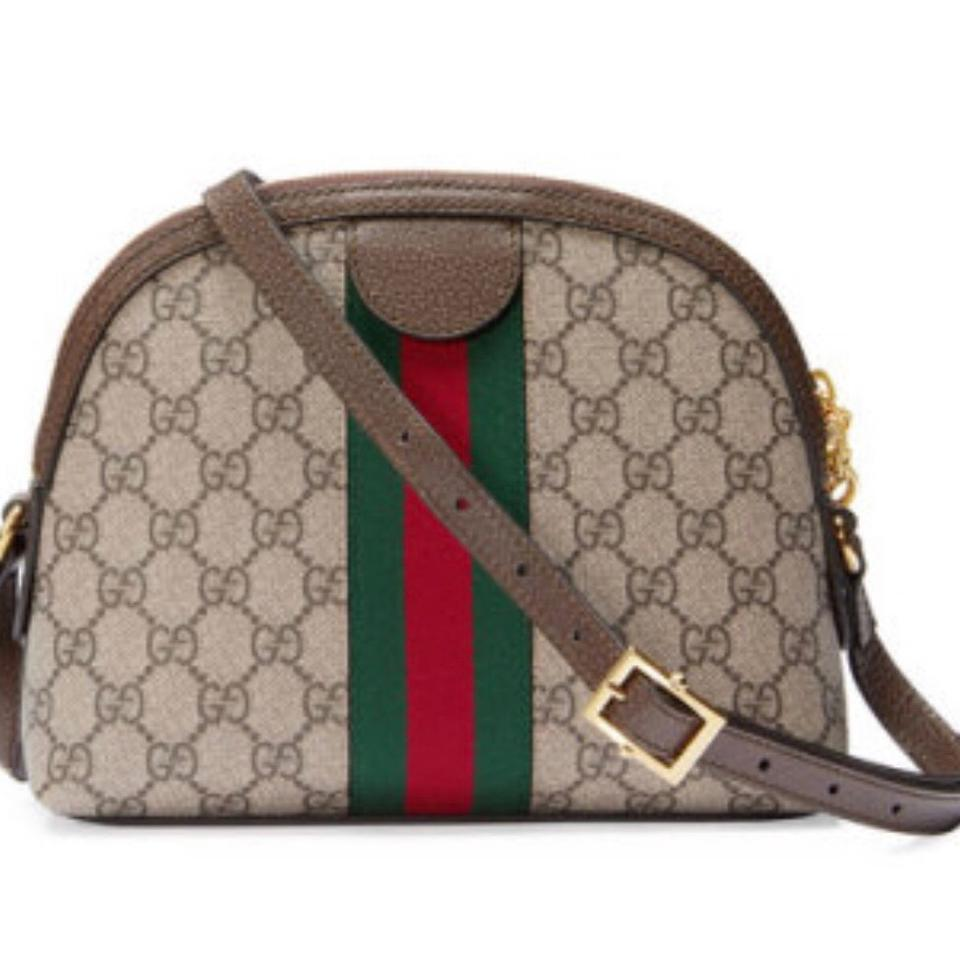 f533577dbaf Gucci Gg Supreme Ophidia Shoulder Bag - Tradesy