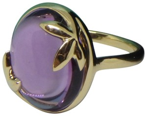 47503fb1c Tiffany & Co. 18k Yellow Gold and Amethyst Paloma Picasso Olive Leaf Ring