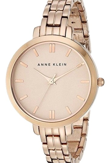 Anne klein rose gold 1446rgrg watch tradesy for Anne klein rose gold watch set