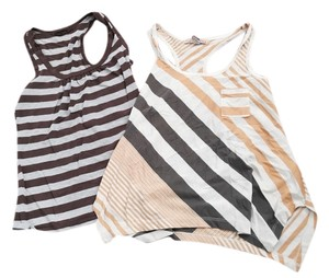 Forever 21 Striped Summer Summer Racerback Racker Back Stripes Summer Shirts American Rag 21 Xxi Xxi Cute Casual Casual Top Multi