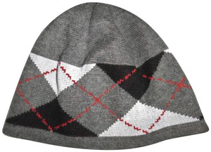 Hurley Plaid Beanie Hat
