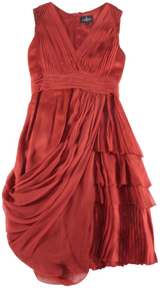 J Mendel Silk D Pleated Dress