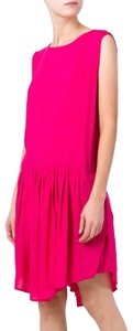 IRO short dress Fuchsia Open Back Pink Ruched on Tradesy