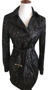 W118 by Walter Baker black/grey animal print Jacket