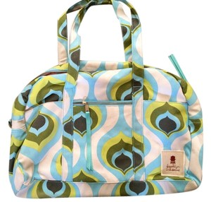 Brooklyn Industries Cotton Colorful Shoulder Bag