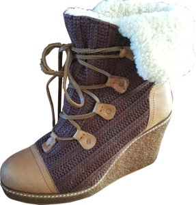 Australia Luxe Collective Brown and Tan Boots