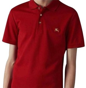 d8e16e3a2 Burberry Brit Military Red Men s Phillipson Polo Tee Shirt Size 8 (M ...