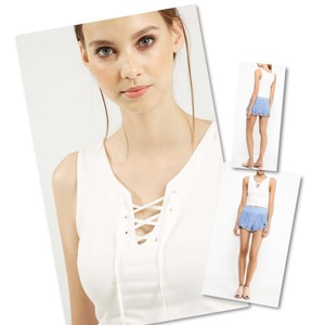 Topshop Top Off white