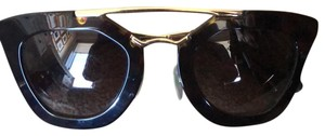 Prada Prada Black Cat-Eye Sunglasses - pr 09qs