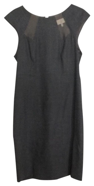 Item - Grey 111343 Mid-length Night Out Dress Size 4 (S)