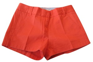 J.Crew Chino Mini/Short Shorts Orange