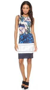 Clover Canyon Stretchy Neoprene Floral Washable James Joyce Dress