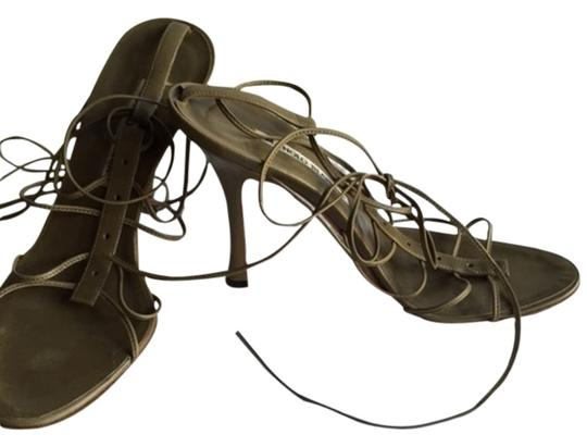 Preload https://item2.tradesy.com/images/manolo-blahnik-olive-lace-up-ankle-tie-sandals-2299086-0-0.jpg?width=440&height=440