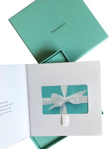 Tiffany & Co. Tiffany & Co. Gift Card