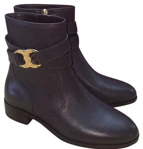 Tory Burch Leather Coconut Boots