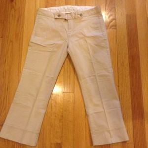 7 For All Mankind Capris Khaki
