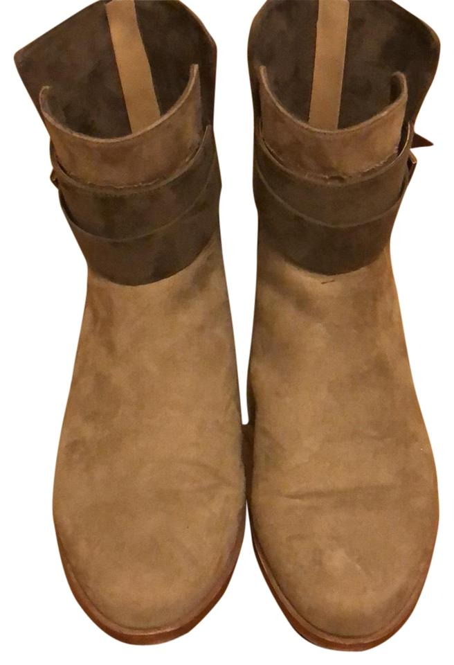 Trafaluc Taupe Zara Suede Suede Zara Ankle Boots/Booties 8aa10a