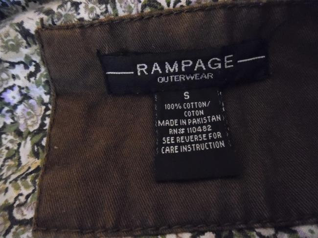Rampage Brown Vintage-style Worn Faded Double-breasted Boho Jacket Size 4 (S) Rampage Brown Vintage-style Worn Faded Double-breasted Boho Jacket Size 4 (S) Image 4
