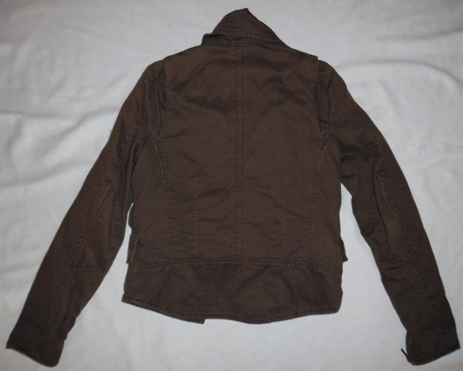 Rampage Brown Vintage-style Worn Faded Double-breasted Boho Jacket Size 4 (S) Rampage Brown Vintage-style Worn Faded Double-breasted Boho Jacket Size 4 (S) Image 5