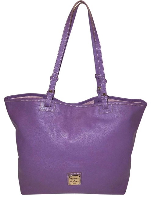 Item - Extra-large Lavender Leather Tote