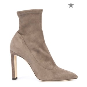 Jimmy Choo mink brown tan Boots