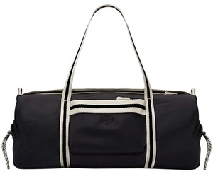 Tory Burch Duffle Gym Black Travel Bag