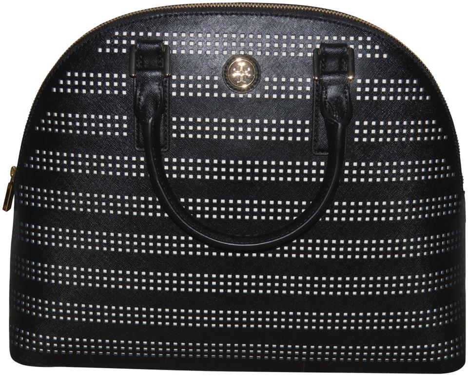 Tory Satchel Burch Robinson Dome Perforated rqrfwg