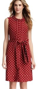 Tory Burch short dress Red and Pink on Tradesy