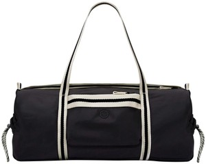 Tory Burch Gym Duffle Black Travel Bag