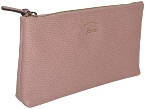 Gucci Leather Wristlet in Soft Pink