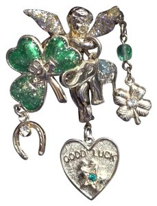Kirks Folly Kirks Folly Good Luck Brooch/Pin