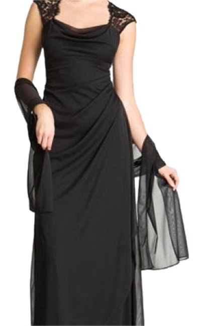 Preload https://item2.tradesy.com/images/xscape-black-lace-gown-long-formal-dress-size-16-xl-plus-0x-22992851-0-3.jpg?width=400&height=650