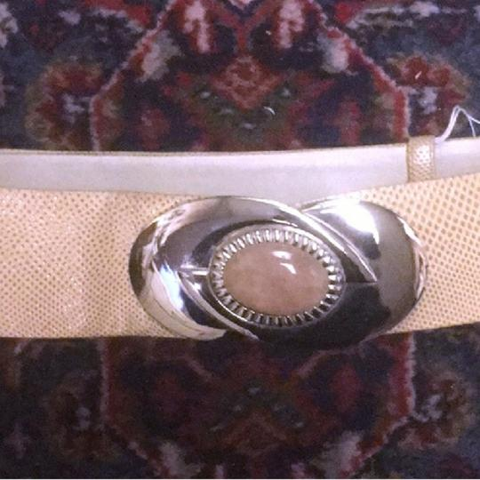 Judith Leiber Judith Lieber Adjustable cream belt