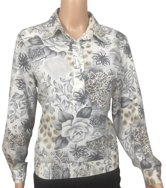 Preload https://img-static.tradesy.com/item/22992912/alfred-dunner-gray-white-cream-floral-button-down-top-size-petite-8-m-0-1-650-650.jpg
