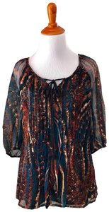 Plenty by Tracy Reese Top multi color