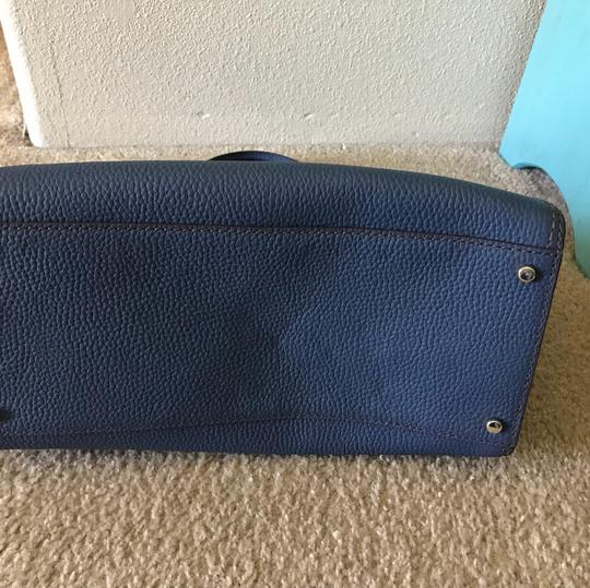 Kate Spade Leather New York Satchel in Blue