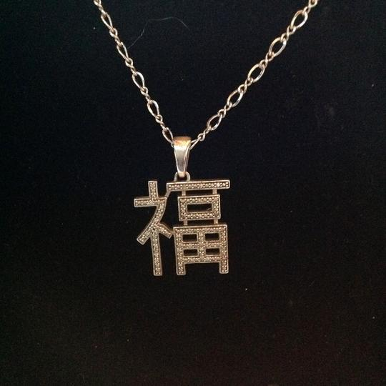 Other sterling aisian charm necklace