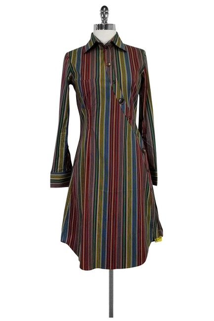 Preload https://img-static.tradesy.com/item/22993076/paul-smith-multicolor-striped-short-casual-dress-size-4-s-0-0-650-650.jpg