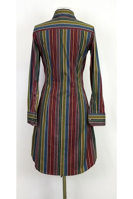 Paul Smith short dress Multi Color Striped on Tradesy