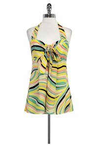 Nanette Lepore Color Halter Top Multi
