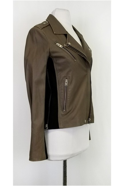 IRO Leather Taupe Jacket