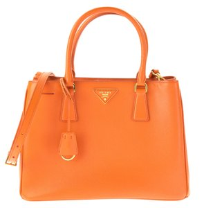 Prada Satchel in Orange