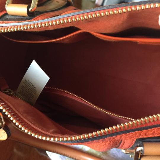 Burberry Satchel in Orange